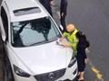 CSGT Hà Nội phạt xe ô tô vi phạm dừng đỗ tràn lan từ tin nhắn trên facebook