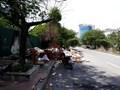 Đoạn đường bị bỏ hoang giữa Thủ đô