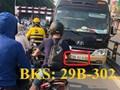 Đã xác định được chủ xe khách đi lấn làn, ngược chiều trên cầu vượt Thái Hà