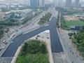 [Video] Đường đua F1 Hà Nội bắt đầu trải thảm sau 8 tháng thi công