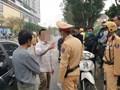 """Gây tai nạn trên phố Kim Mã, tài xế ô tô lộ vi phạm nồng độ cồn mức """"khủng"""""""