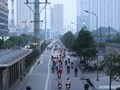 [Ảnh] Hà Nội: Ngày thứ 7 thực hiện cách ly xã hội, dòng người bất ngờ đổ xô ra đường