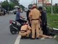 Cảnh sát giao thông cứu giúp thai phụ bị tai nạn thoát cơn nguy kịch