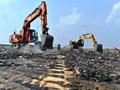 Thực hư việc trộm vật liệu tại dự án sửa mặt cầu Thăng Long
