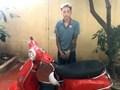 Bắt đối tượng đột nhập phòng trọ trộm cắp xe máy