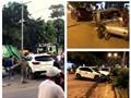 Hà Nội: Xe điên tông hàng loạt phương tiện ở thị xã Sơn Tây
