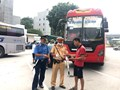 Mở đợt cao điểm xử lý vi phạm về hoạt động vận tải hành khách theo hợp đồng