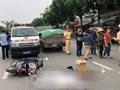 Hà Nội: Nữ sinh đi xe máy điện tử vong trên đường Trần Khát Chân