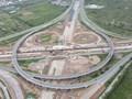 Phân luồng giao thông nút giao cao tốc Hà Nội - Hải Phòng từ ngày 9/1
