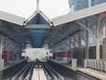 Đường sắt Nhổn - Ga Hà Nội: Đóng điện đường ray số 3, chuẩn bị đưa tàu lên ga