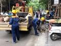Ra quân xử lý bục bệ, cầu dẫn gây cản trở hệ thống thoát nước