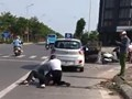 Kỷ luật Đại úy công an đứng gọi điện khi tài xế vật lộn với tên cướp ở Khu đô thị Thanh Hà