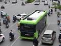 [Ảnh] VinBus chính thức chạy thử nghiệm trên đường phố Hà Nội