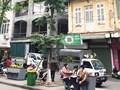 Tại phường Hàng Trống: Xe chở phế thải xây dựng hoạt động cản trở giao thông