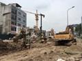 Nhiều dự án giao thông tắc tiến độ gây ra nhiều hệ lụy cho Hà Nội