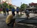 """Phường Vĩnh Phúc, quận Ba Đình: """"Xoá sổ"""" bãi xe không phép tại số 2-4 Đội Nhân"""