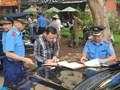 Xử lý xe ô tô đỗ sai quy định tại bán đảo Linh Đàm