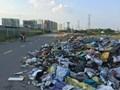 Đường gom cao tốc Pháp Vân - Cầu Giẽ: Hiểm hoạ rình rập, rác thải tràn lan