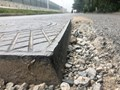 Đường gom cao tốc Pháp Vân - Cầu Giẽ: Vẫn nhếch nhác, lồi lõm