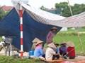 Người dân lại chặn xe vào bãi rác Nam Sơn