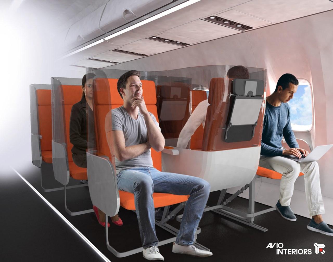Kiểu thiết kế khác lạ khiến ghế ngồi trong khoang hành khách vô cùng lạ lẫm