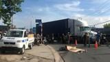 Va chạm với xe container, nam thanh niên chết thảm dưới bánh xe