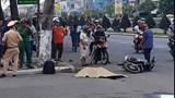 Thiếu niên 14 tuổi lái xe máy tông vào vỉa hè, 1 người chết
