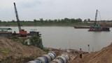 Cấm tàu trên sông Hồng qua Hà Nội trong 5 ngày để thi công đường ống nước sạch