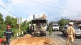 3 người thương vong trong vụ tai nạn giữa 2 ô tô và 2 xe máy trên QL1