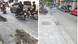VNPT Hà Nội hoàn trả mặt đường Lý Nam Đế sau phản ánh của Giaothonghanoi