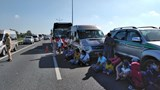Nguyên nhân vụ 7 xe đâm nhau trên cao tốc khiến giao thông ùn tắc