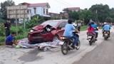 Đình chỉ Thiếu úy công an lái xe tông chết 2 người ở Thanh Hóa