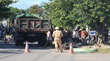 Quảng Trị: Va chạm với xe ben, 3 mẹ con đi xe máy thương vong
