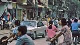 Hình độc về giao thông ở Hà Nội đầu thập niên 1990