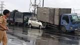 Tai nạn liên hoàn trên quốc lộ 1, giao thông ùn tắc nghiêm trọng