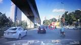 Thanh niên 'thông chốt giao thông ' chạy ngược chiều và cái kết