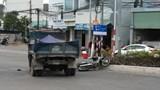 Va chạm với xe tải đi ngược chiều, người đàn ông đi xe máy nguy kịch