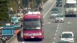 Hà Nội: Ô tô đi lùi 2km ở đường trên cao bị phạt 1 triệu