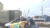 Xe khách mất lái gây tai nạn liên hoàn, hàng chục người thoát chết