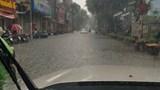 Cập nhật bão số 3, nhiều tuyến phố nội đô Hà Nội nguy cơ ngập nặng