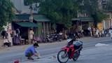 Nghệ An: Va chạm với container, cô gái tử vong tại chỗ