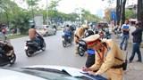 Hà Nội xử phạt cả nghìn phương tiện giao thông mỗi ngày