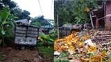 Thanh Hóa: Xe tải chở bia mất lái tông vào nhà dân, 2 người tử vong tại chỗ
