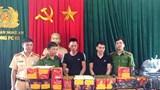 Nghệ An: Dùng xe đầu kéo vận chuyển pháo, 2 đối tượng bị bắt giữ