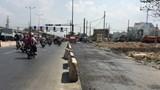 Quốc lộ 32C đoạn qua thành phố Việt Trì chưa thể hoàn thiện do thiếu vốn