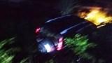 Xe 7 chỗ lao xuống ruộng trong đêm, tài xế chết tại chỗ, 2 người bị thương