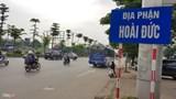 Duyệt chỉ giới đường đỏ tuyến đường ĐH02, huyện Hoài Đức