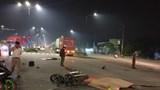 2 vợ chồng trẻ chết thảm dưới bánh xe container ở Bình Dương