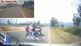 Đôi nam nữ bị xe tông vì sang đường thiếu quan sát