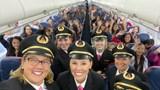 Phụ nữ ngày càng tự tin để trở thành phi công